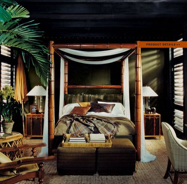 Ralph Lauren Home #Cape_Lodge Collection 5A   Bedroom