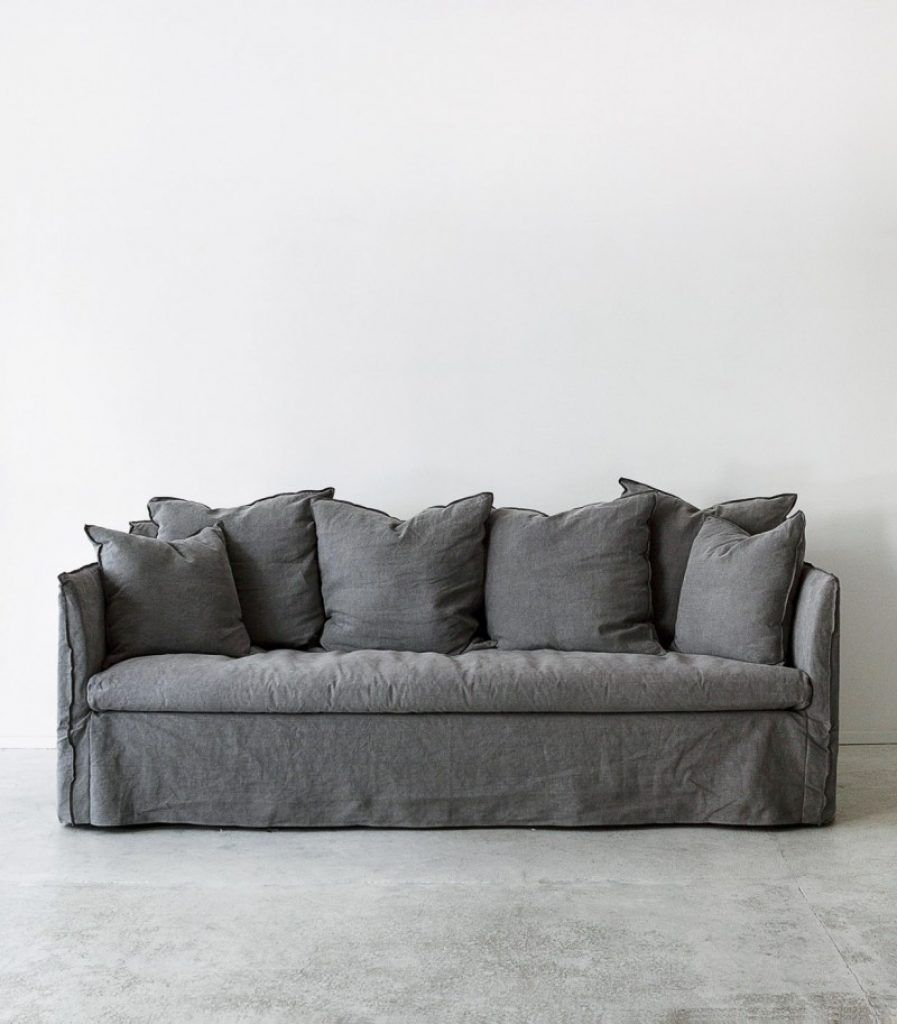 Image Result For Linen Covered Couch