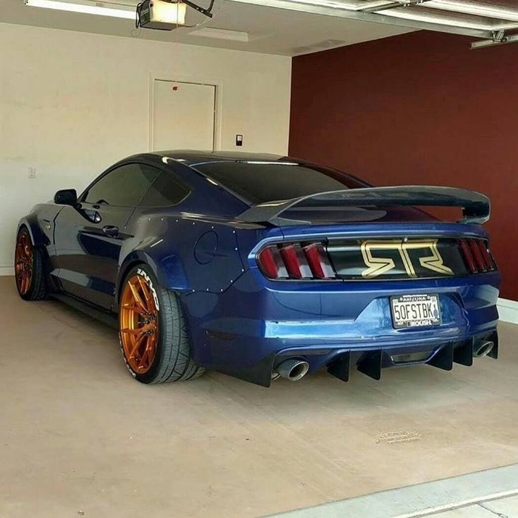 Nice Rear End New Ford Mustang Mustang Cars Ford Gt Mustang Tuning
