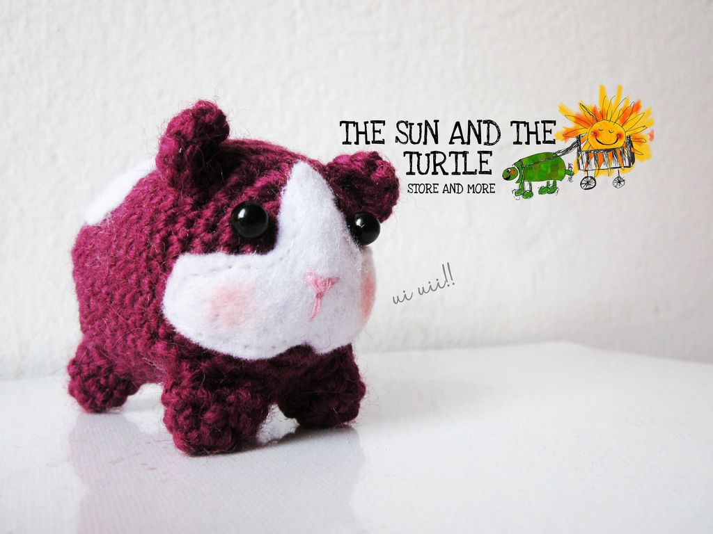 Amigurumi Guinea Pig Free Pattern   The Sun and the Turtle