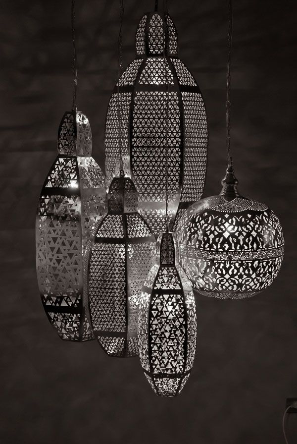 Handcrafted Metal Lighting by Zenza