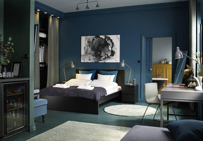 le bleu roi de nos int rieurs home pinterest. Black Bedroom Furniture Sets. Home Design Ideas