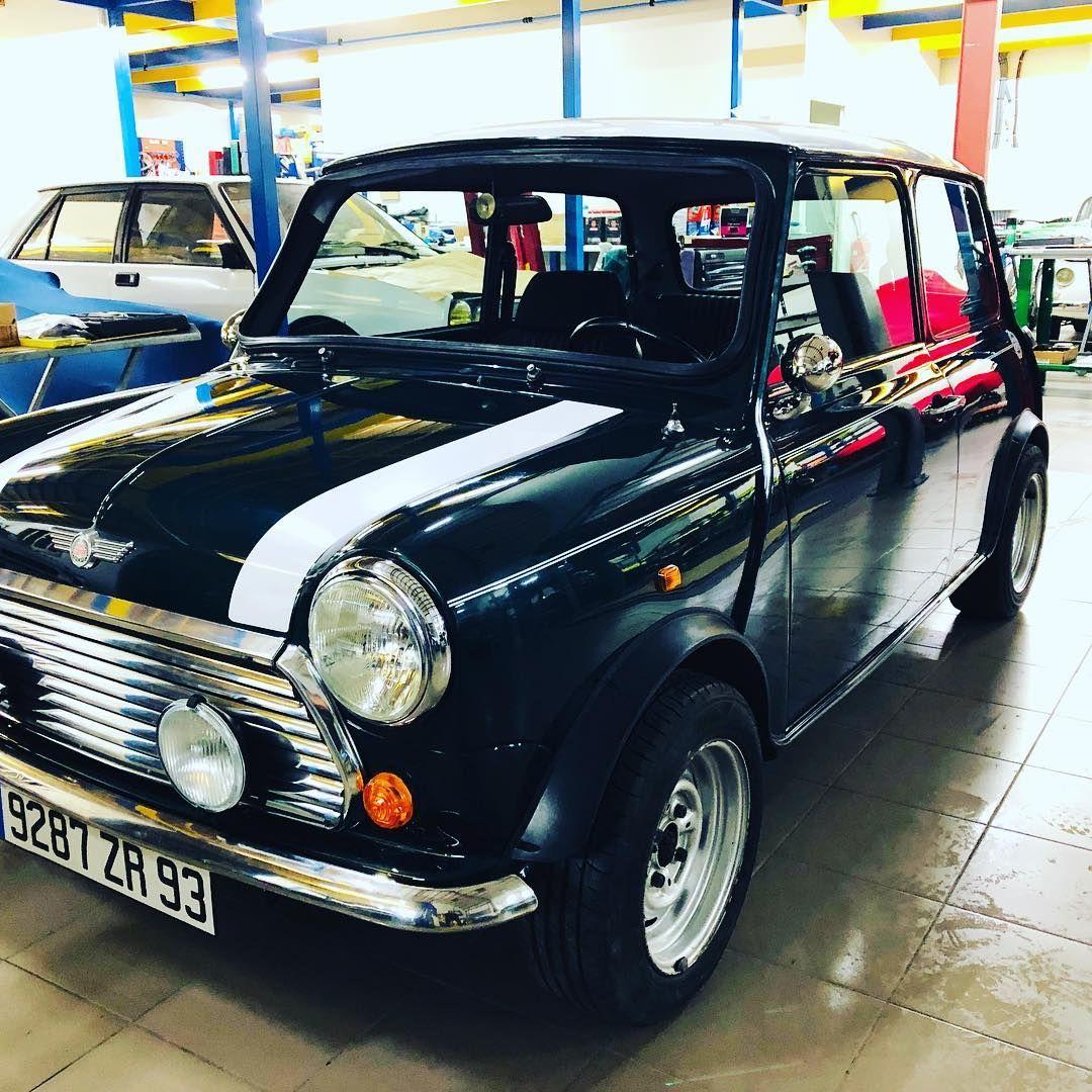 Vmshistoriquecars Stemaxime Classicmini Remontage Mini En Cours Comme Neuve Restauration Sur Mini Lifestyle Mini Cooper Vintage Cars