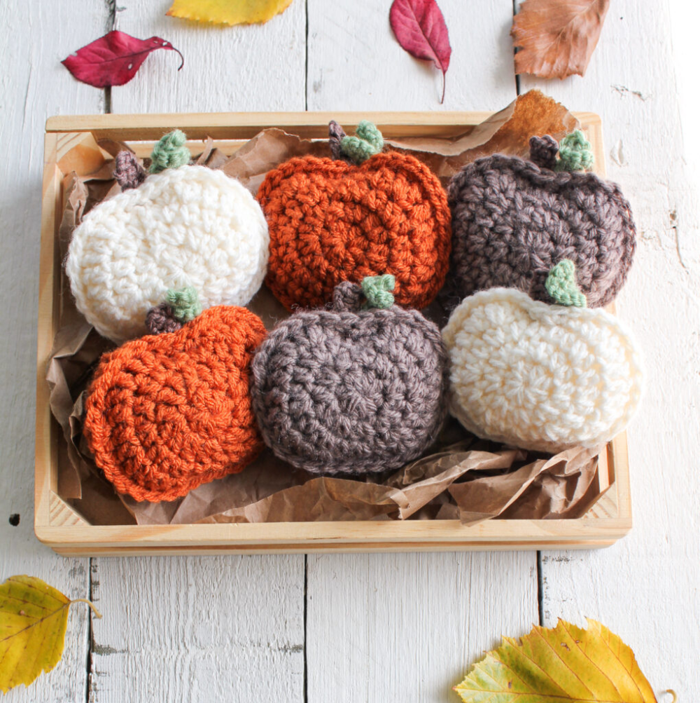 Halloween Fairs In Garland Area 2020 Rustic Crochet Pumpkin Garland | Free Pattern | The Knotted Nest