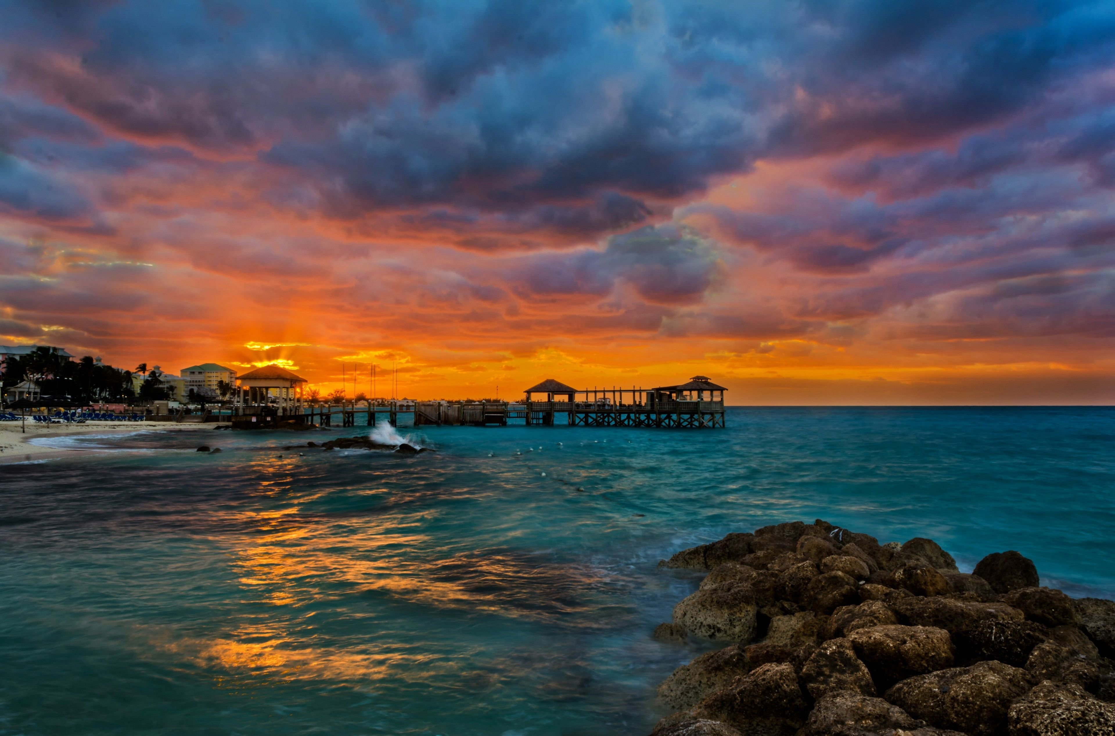 3840x2534 Sea 4k Downloading Wallpaper For Pc Beach Sunset Wallpaper Sunset Wallpaper Landscape Wallpaper