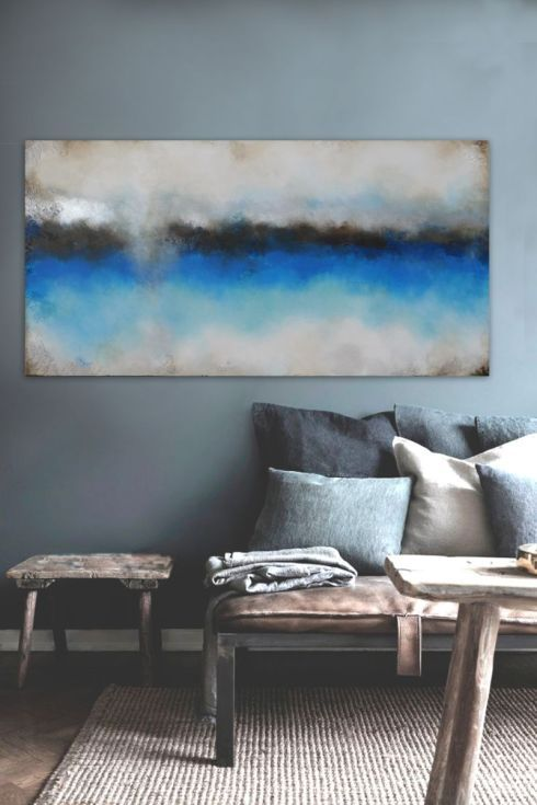 Buy silver blue (140 x 70 cm), Acrylic painting by Dee Brown on Artfinder. Discover thousands of other original paintings, prints, sculptures and photography from independent artists.