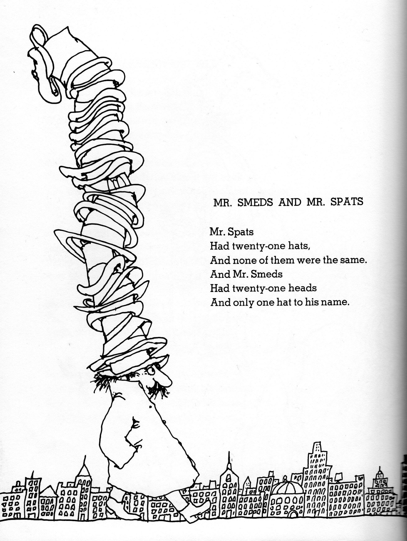 Shel Silverstein Poems Poems for speaking class Pinterest