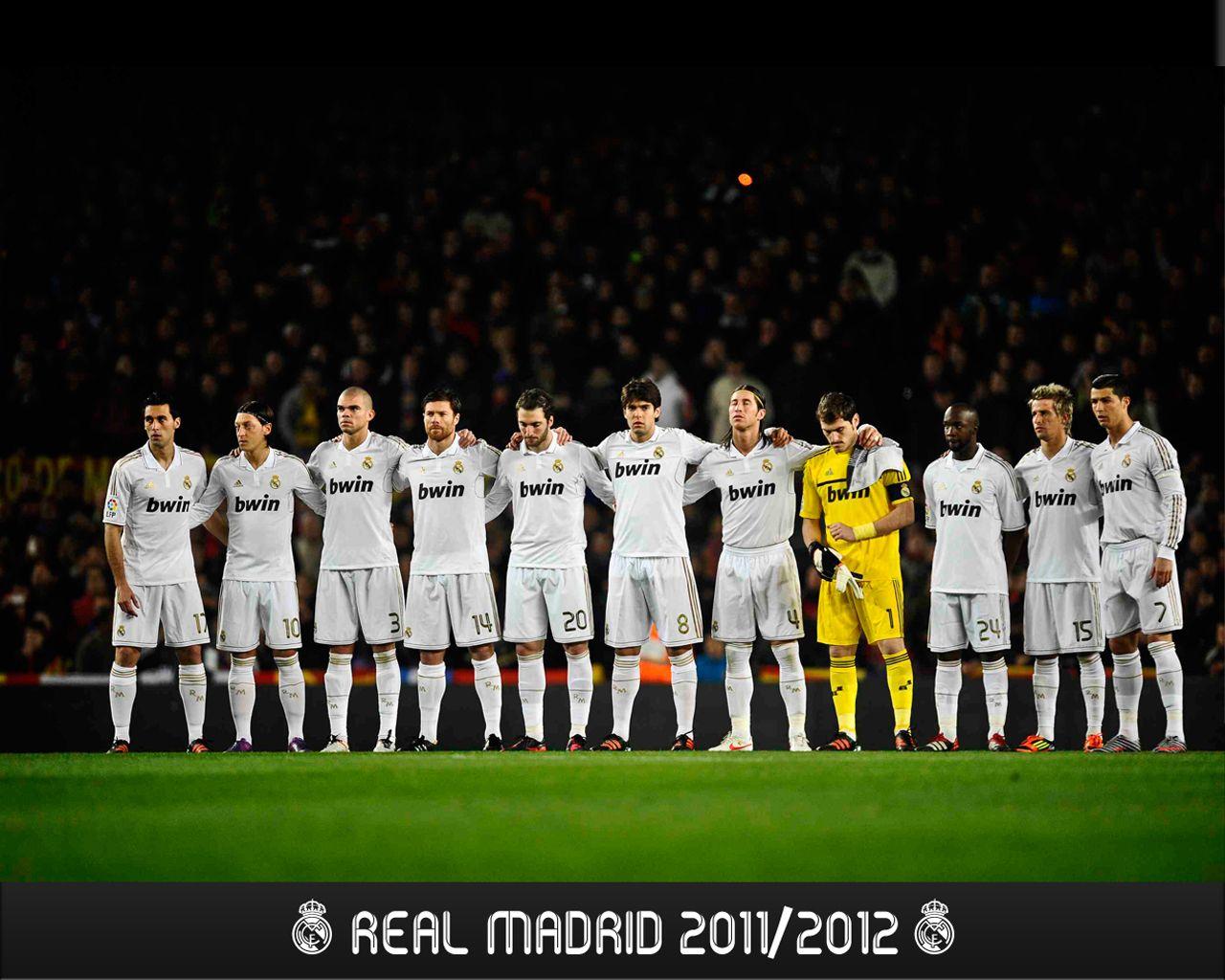 Real Madrid 2011 2012 Real Madrid Team Madrid Wallpaper Real Madrid