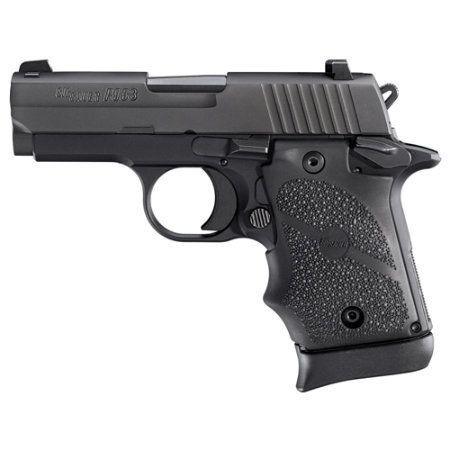 Sig Sauer P938, a superb quality 9mm concealed carry gun. Easily concealable, SA trigger, and typical Sig precision.