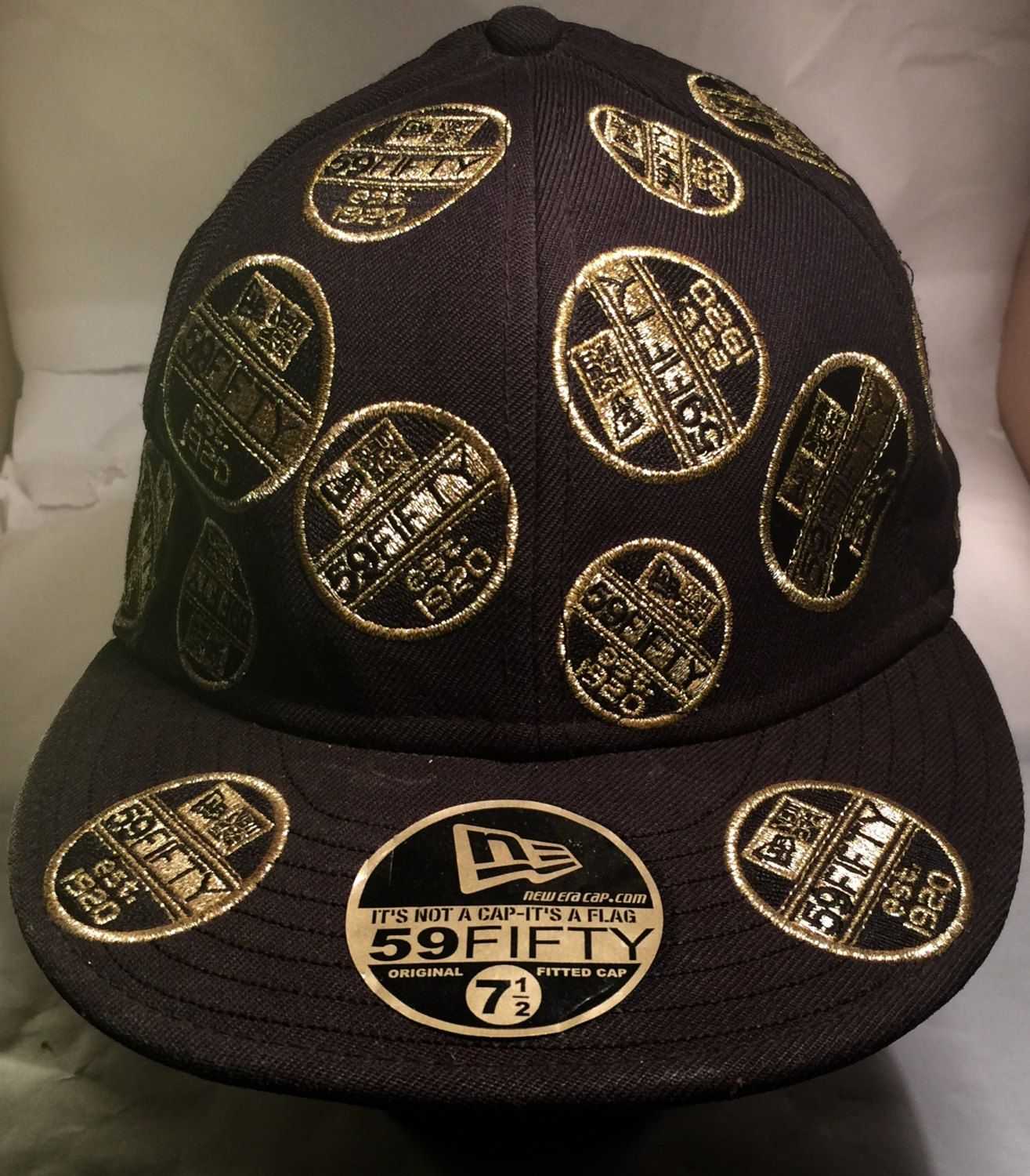 fitted hats with patches cheap