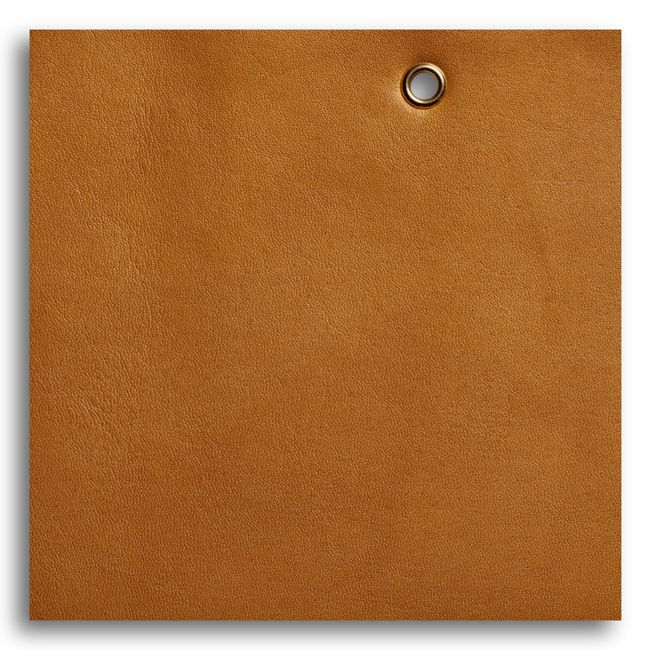 Saddle Brown Leather Grain Genuine Leather Upholstery Fabric