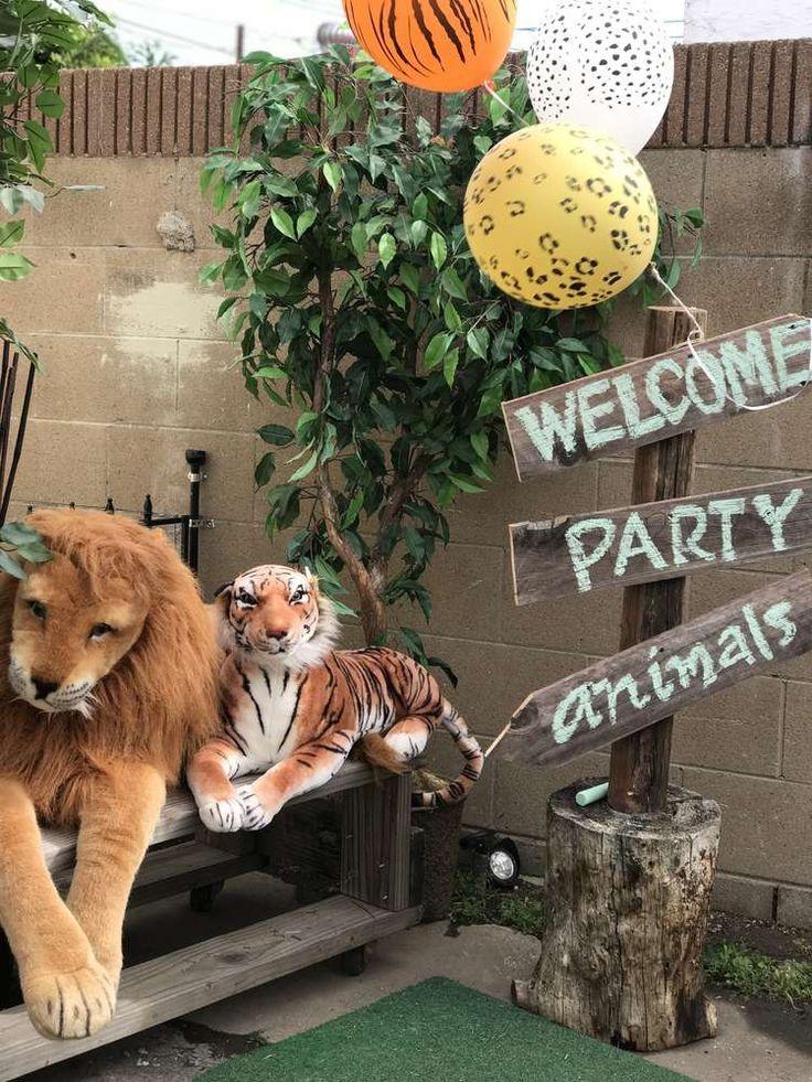 Safari-Geburtstagsfeier-Ideen #safaribirthdayparty