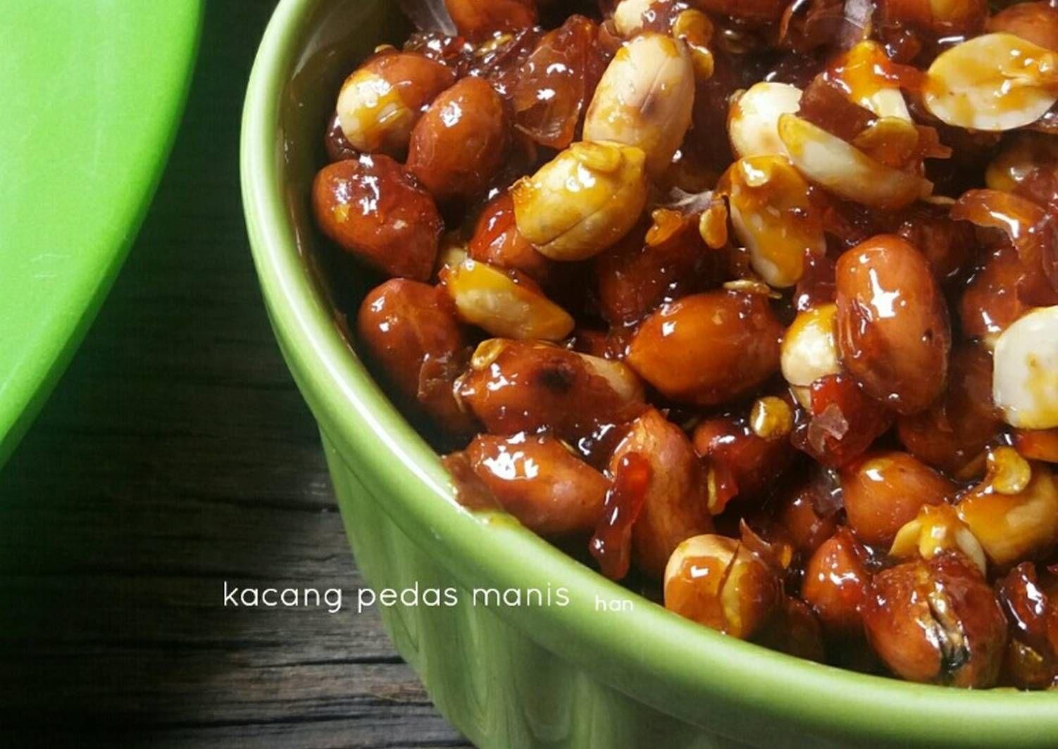 Resep Kacang Pedas Manis Oleh Izza Han Resep Memasak Kacang Resep