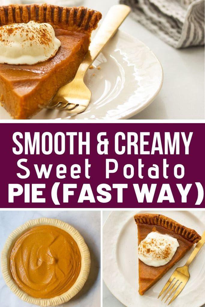 Southern Sweet Potato Pie The Fast Way Recipe Sweet Potato Pie Sweet Potato Pie Southern Delicious Pies