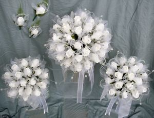 white rose bouquet with crystals - Google Search