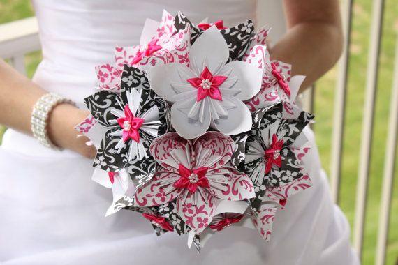 Pin by vasiljka radonic on paper flowers pinterest flower craft origami bouquetorigami flowersorigami mightylinksfo