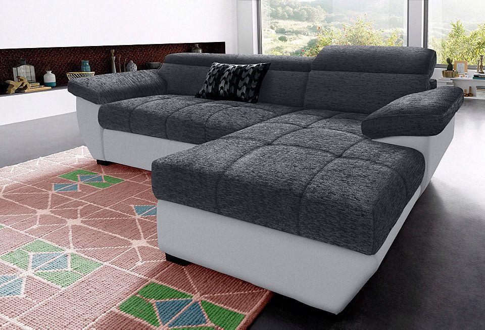 Cotta Polsterecke, wahlweise mit Bettfunktion Jetzt bestellen unter - wohnzimmer sofa braun