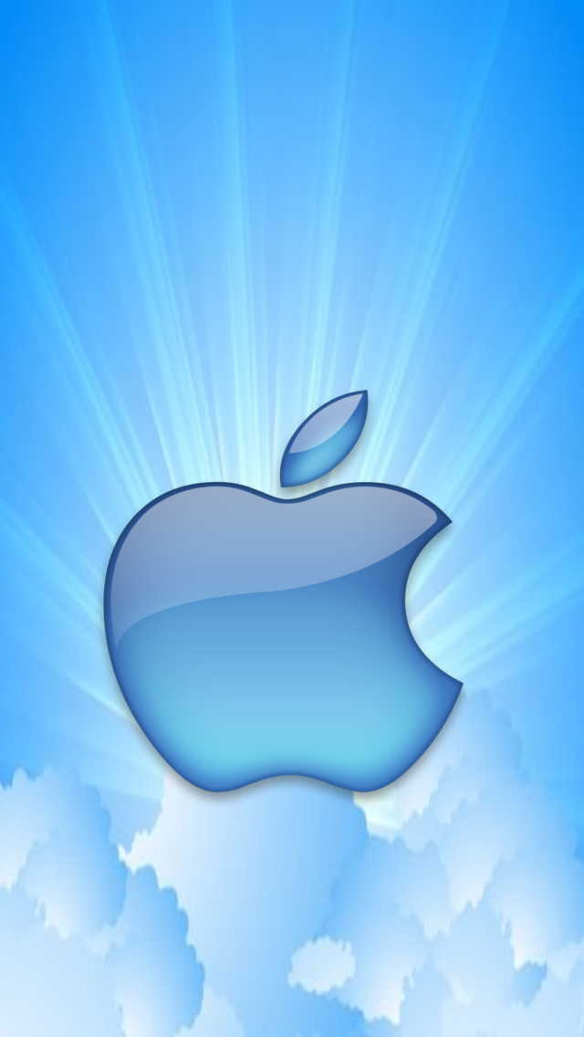 Blue Sky Apple Micromax A110 Canvas 2 hd wallpapers