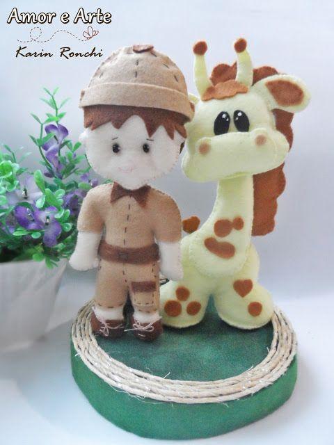 Topo de bolo, Safari.