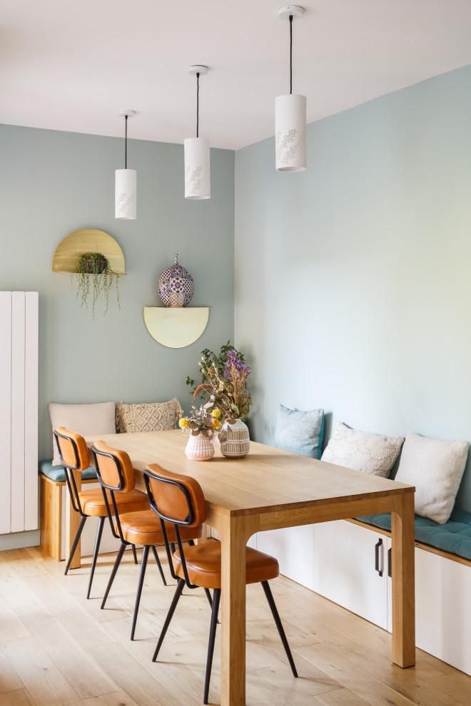 Rénovation d'un duplex en Rez-de jardin - Contemporary - Dining Room - Paris - by QUALIRENOVATION
