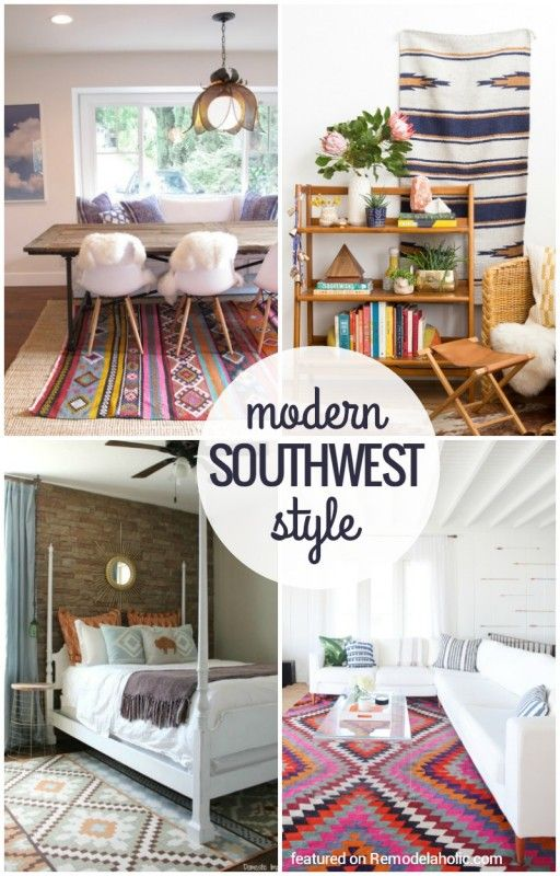 Inspiration File: Wild U0026 Modern Southwestern Style. Navajo StyleModern ColorsSouthwestern  Bedroom ...