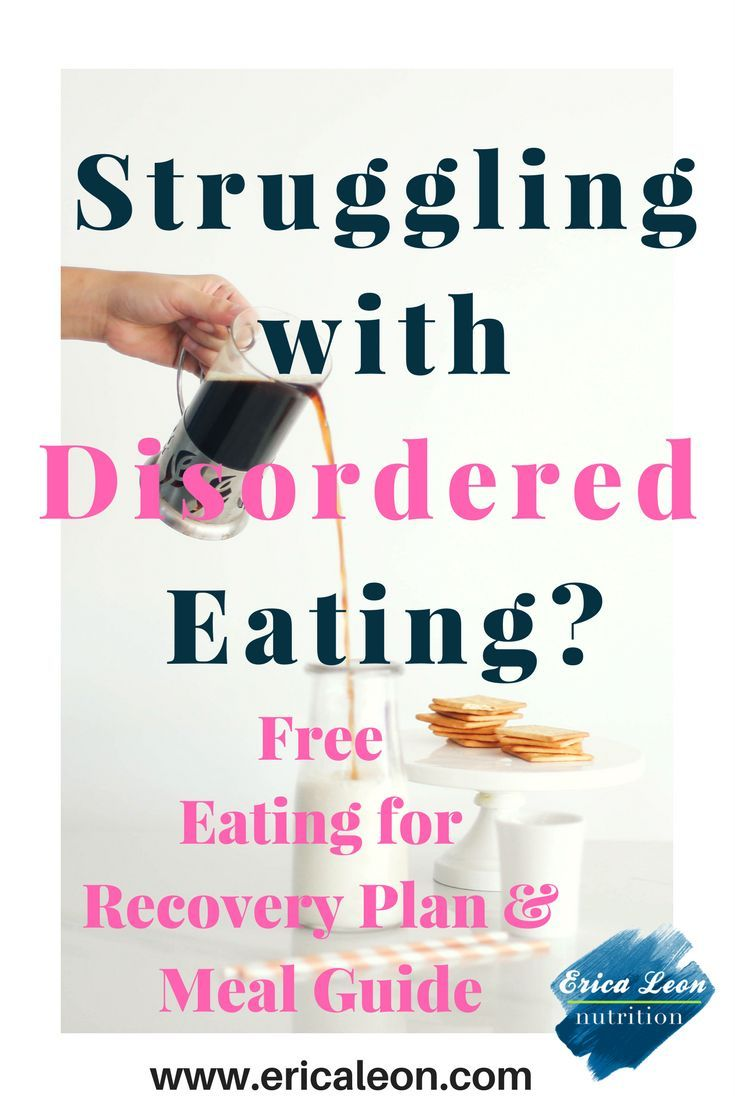 how to start an eating disorder