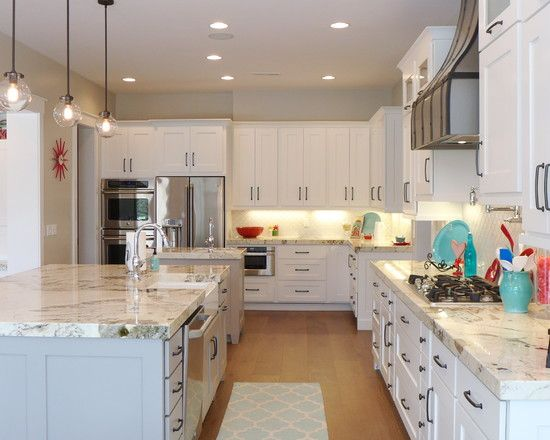 White Kitchen Cabinets With Gray Granite Countertops the elegant and stylish alaskan white granite for your kitchen