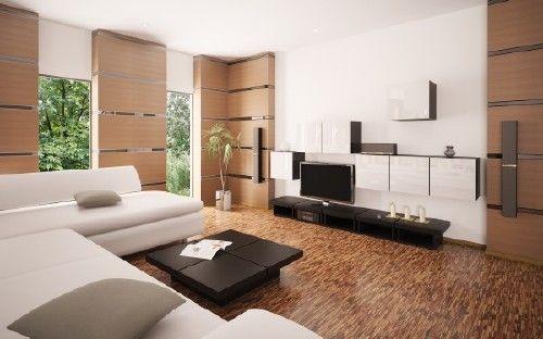 elegante-sala-de-estar1 casita Pinterest Salas pequeñas