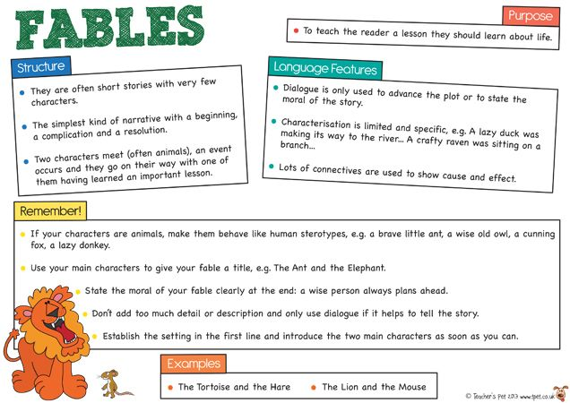 Teachers Pet Free Features And Examples Of Myths Legends Fables
