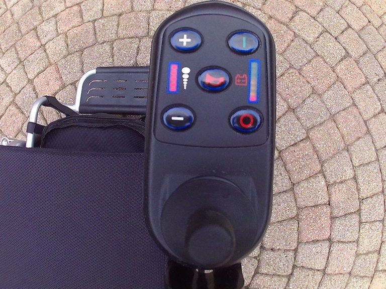 USED Air Hawk Power Folding Wheelchairs Folding electric