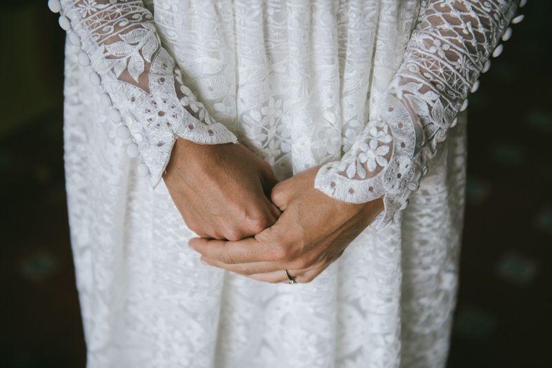 La boda de Inés y Oisín en Luarca © Gonzalo Machado.