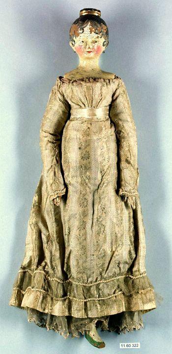 18th Century Grodnertal Doll.