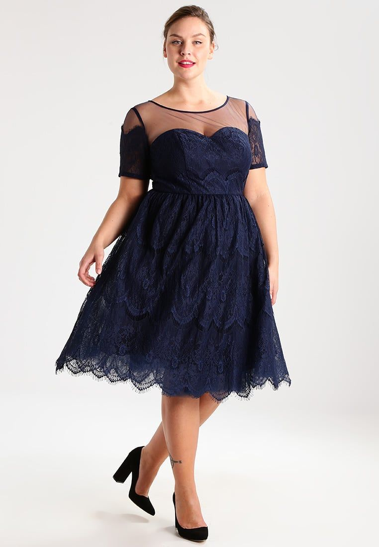 b8dbc80be7 Chi Chi London Curvy JOSIE - Sukienka koktajlowa plus size na wesele ...
