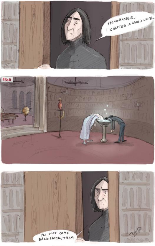 Pensieve By Animateglee Harrypotter Fanart The Boy Who