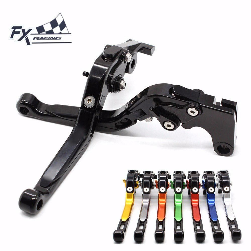 CNC Folding Extendable Motorcycle Brake Clutch Levers for Ducati ST2 1998-2003