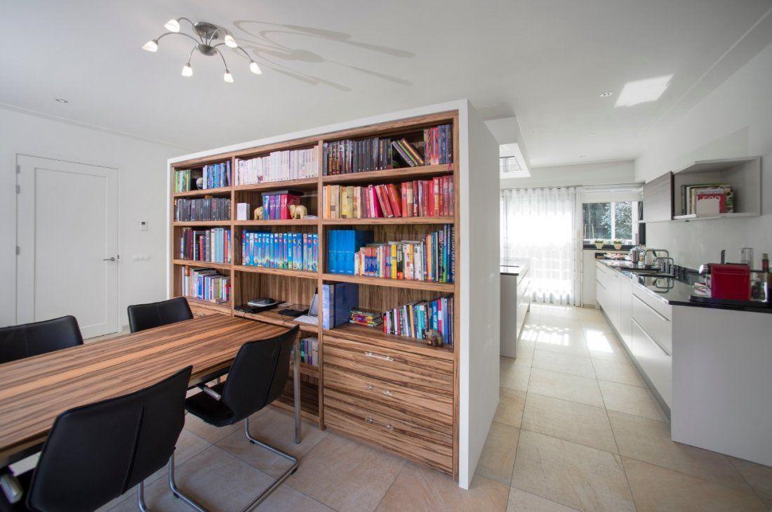 Boekenkast van hout op maat boekenkast pinterest kitchen