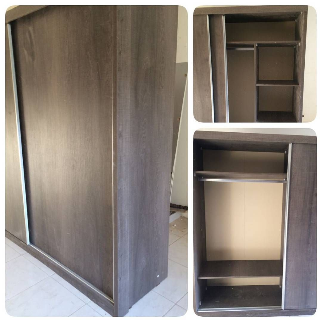 For Sale Wood Cabinet Sliding Door Silver With White Modern Style Size 200x220 New Price 95 Bd للبيع كبت خشب مودرن ستايل Home Decor Furniture Decor