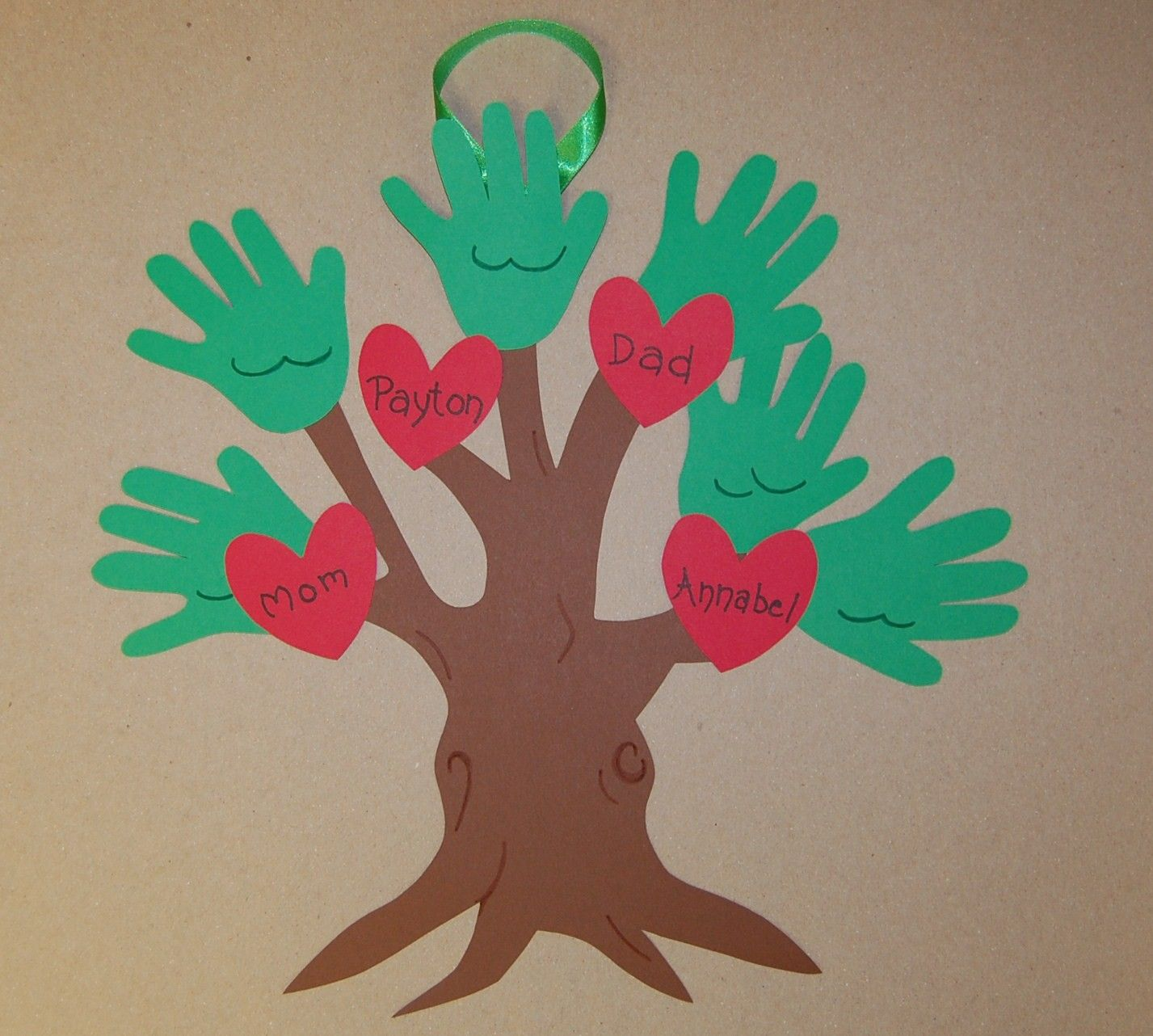 Our Family Tree Cute Idea For Family Home Evening