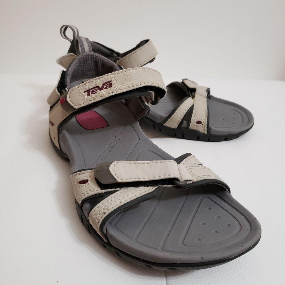 d88c947c5e8e Teva sandals womens size 7. Color beige. Pre owner.  fashion  clothing