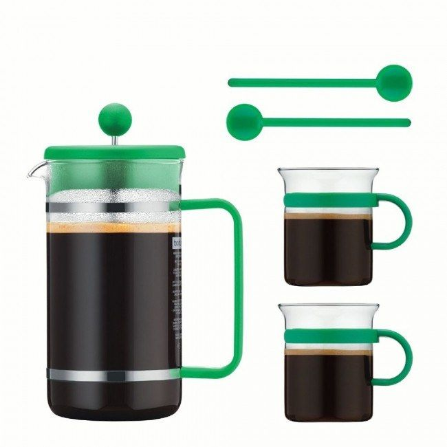 Body Bistro Coffee Set in Green, yes please!