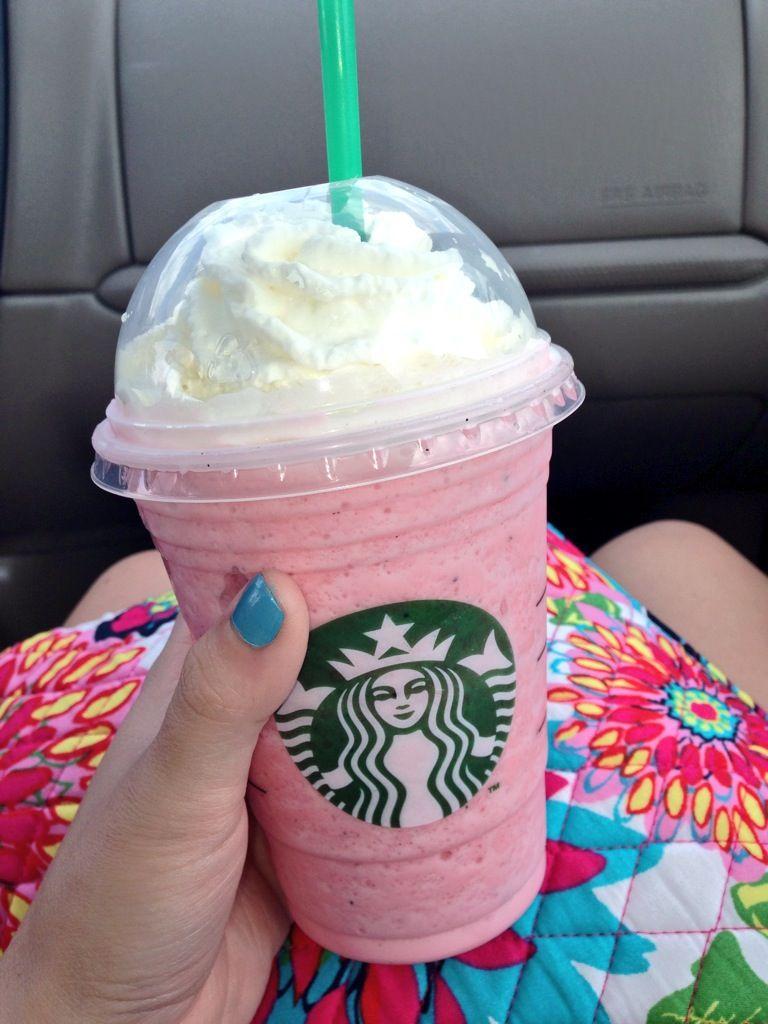 Cotton Candy Frappuccino Starbucks Bebidas Do Starbucks Snapchat Criatividade