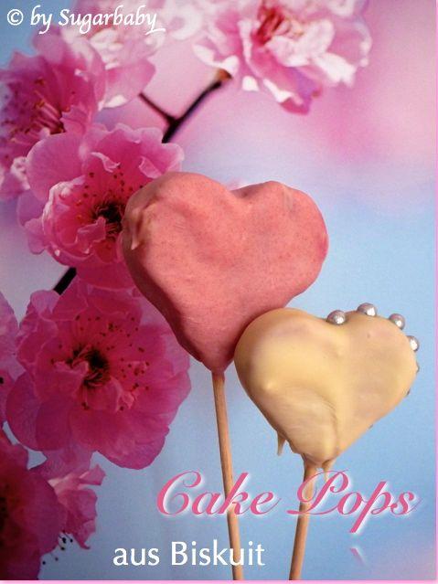Valentinstags-Cake Pops