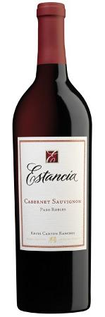 2009 Estancia Cabernet -  Deep crimson in color. Aromas of intense dark fruit, black cherry and mocha. Flavors of dark cherry, currants and chocolate, with a dense, full body, good structure and a nice, lingering finish.  $15