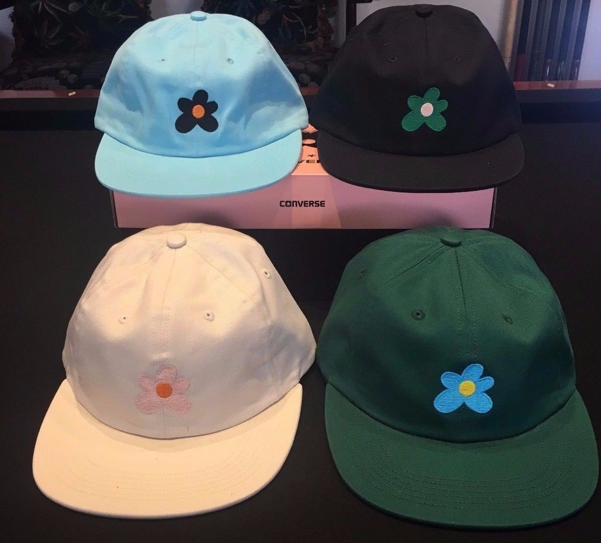 a55e79a3fb5a4 Hats 163543  Official Golf Wang Le Fleur Tyler The Creator Black Hat -  BUY  IT NOW ONLY   59.99 on eBay!
