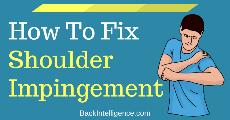 5 DIY Shoulder impingement syndrome exercises to help you ease your shoulder pain. Shoulder impingement is one of the most common shoulder injuries.