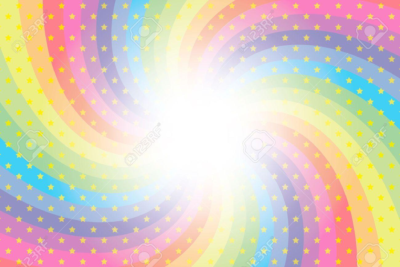 34607793 papel pintado del fondo de material arco iris - Estrellas de papel ...