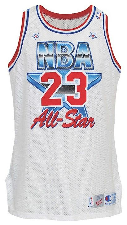 mzhkym Michael Jordan\'s All-Star jersey at $37,500 in basketball Hall of
