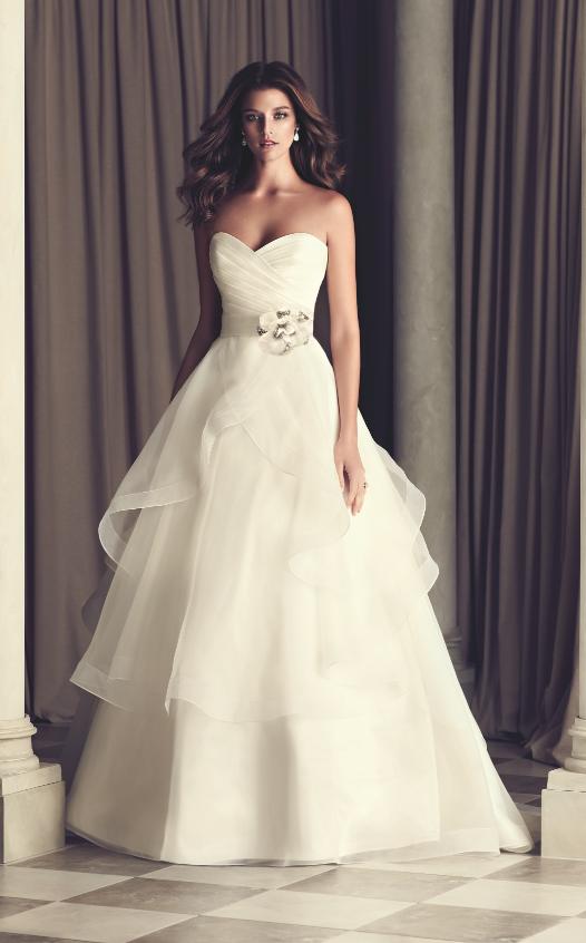 kleinfeldbridalcom paloma blanca bridal gown 32831992 a line