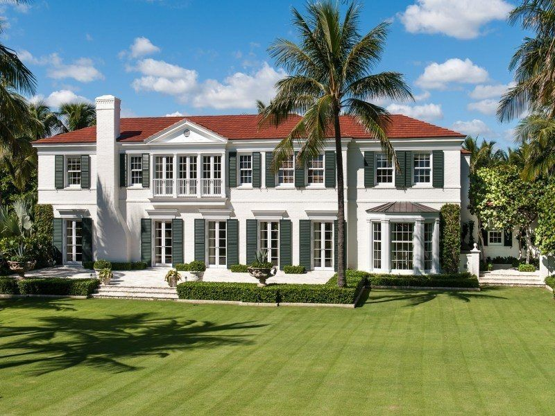 $32 Million Palm Beach Mansion Has A Tent Folly, Etc.