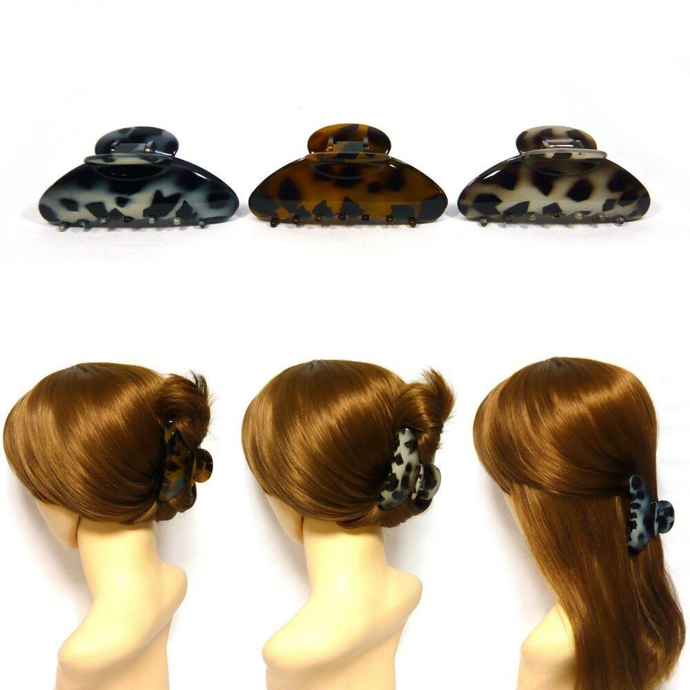 Fashion Hair Clips Banana Claws Clamp Grips Accessories Hairpin